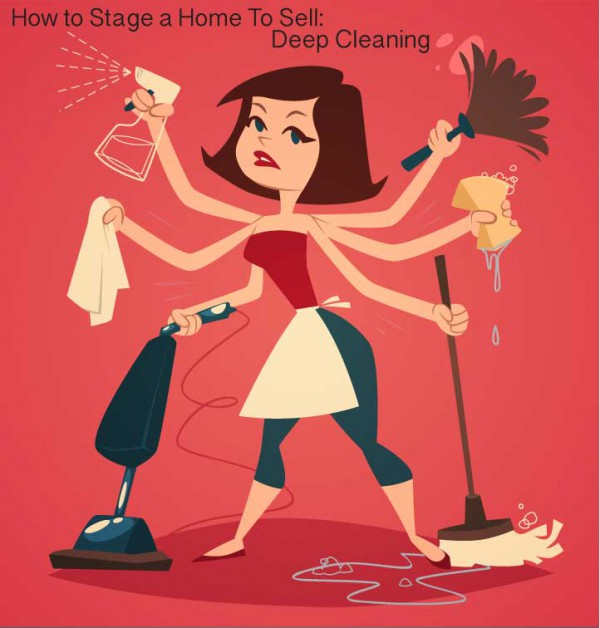 Staging a Home to Sell: Deep Cleaning
