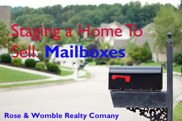 Staging a Home to Sell: Mailboxes