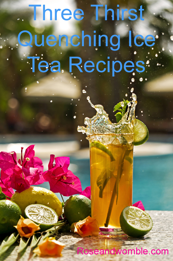 Great ideas to use to help sip on some ice tea this summer