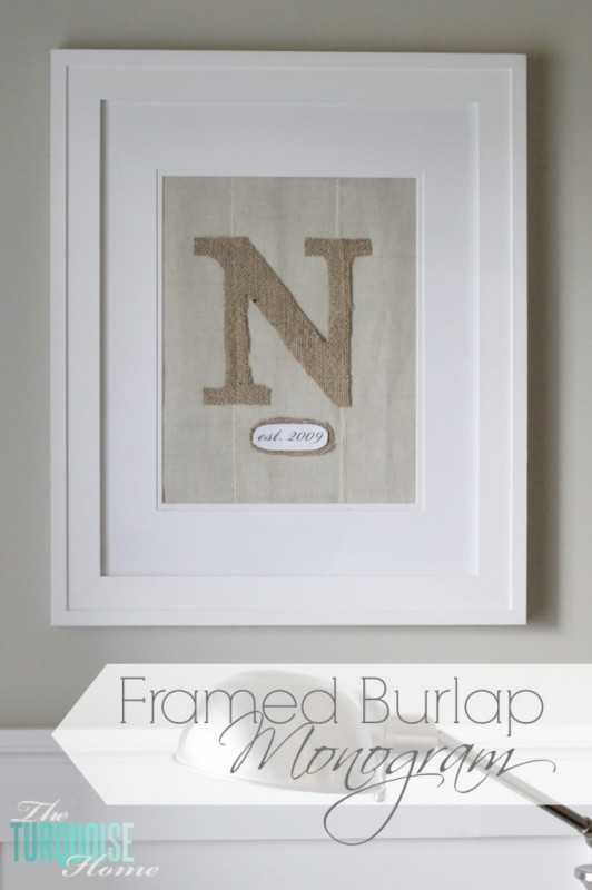This isn't just for fall - but burlap is a great choice.  A wonderful craft project for those who get married in the fall.