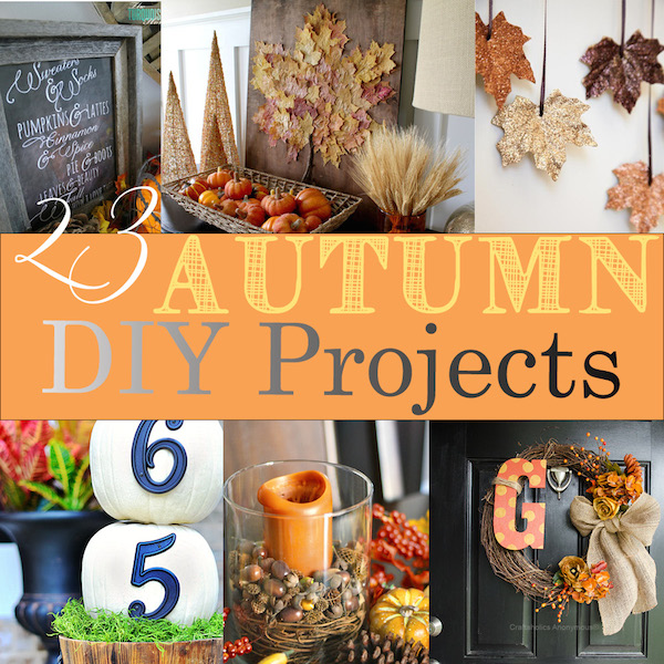 23 autumn diy projects rose womble realty co for Fall diy crafts pinterest