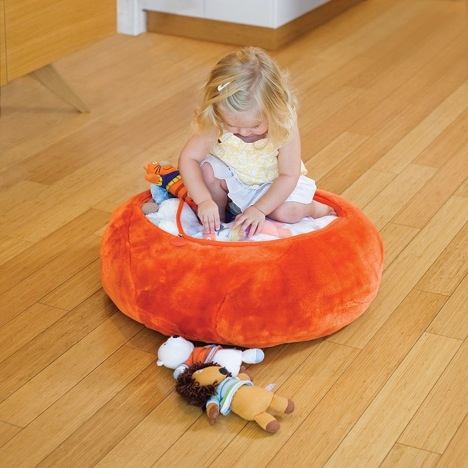 This Plush Zipper Bag Can Be Stuffed With The Stuffies And Then Zipped Up.