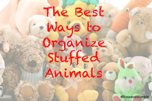 How to Organize Stuff Animals