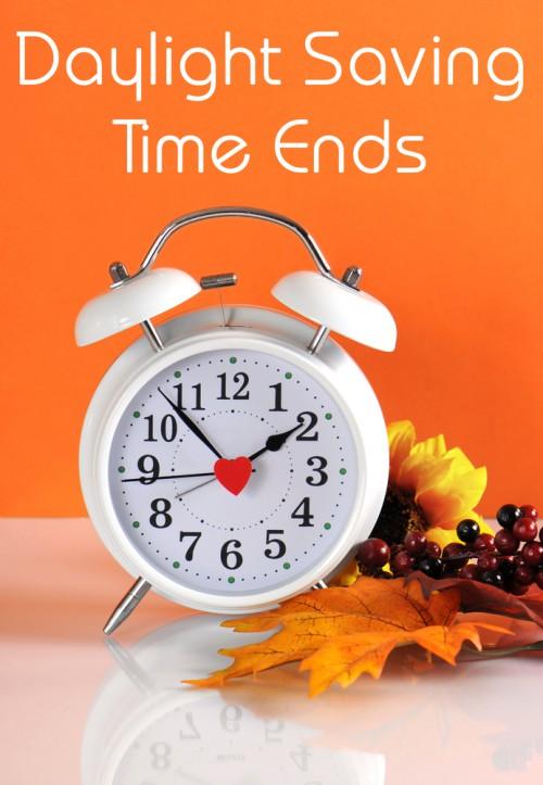 Reminder It's Daylight Savings This Weekend