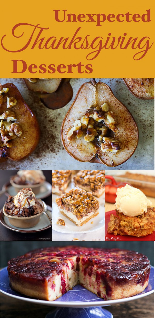 New Ideas for Thanksgiving Desserts