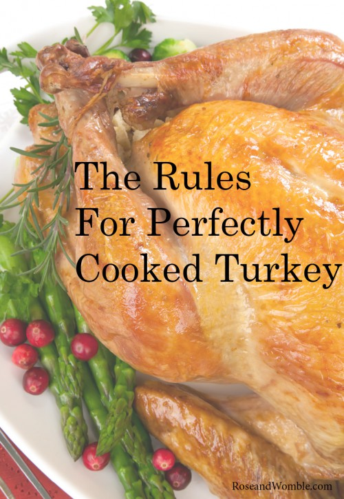 The Rules for the Best Thanksgiving Turkey