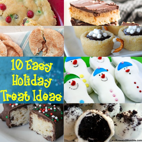The Easiest Holiday Treats Ever!