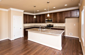 This open kitchen is one of the great features of the Hannah floor plan from Bishard Homes. Want to know more about this home or any of Bishard's properties? Just Ask Jen!
