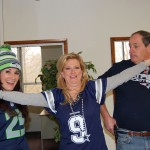 Bonnie Campbell Wes Simmons Super Bowl 49 Seattle Seahawks New England Patriots Rose and Womble Ellen Drames