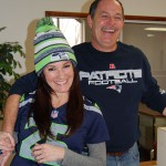 Bonnie Campbell Wes Simmons Super Bowl 49 Seattle Seahawks New England Patriots Rose and Womble