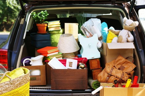 Start clearing out and removing things you don't need to prep for the move. How to Not Stress Out During a Move Rose & Womble Realty Company