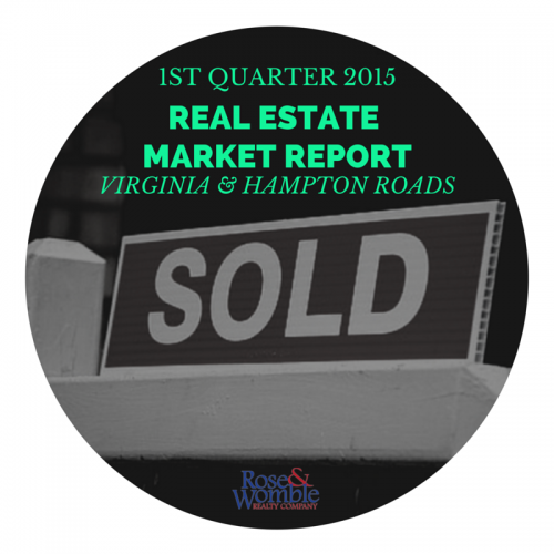 1st quarter 2015 real estate market report for virginia and hampton roads rose and womble realty