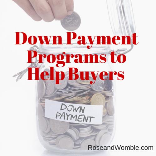 Down Payment Assistance Programs Graphic Rose & Womble