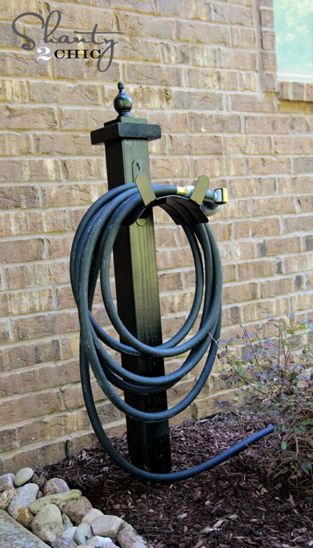 Garden hose holder rose and womble.com
