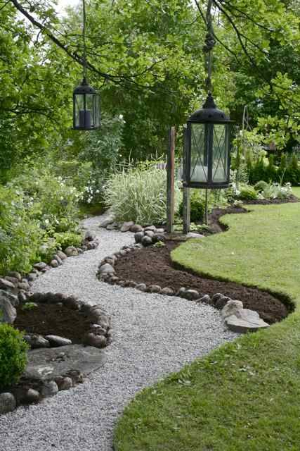 How to create a gravel path. Rose & Womble Realty Company