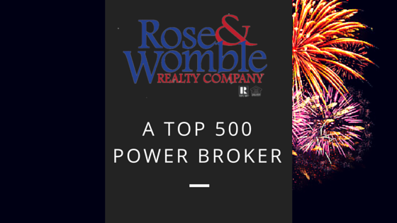 Rose & Womble Named a Top 500 Real Estate Company
