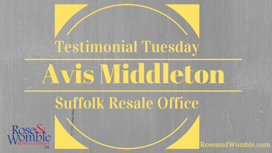 Testimonial Tuesday Feature Image Rose & Womble Realty