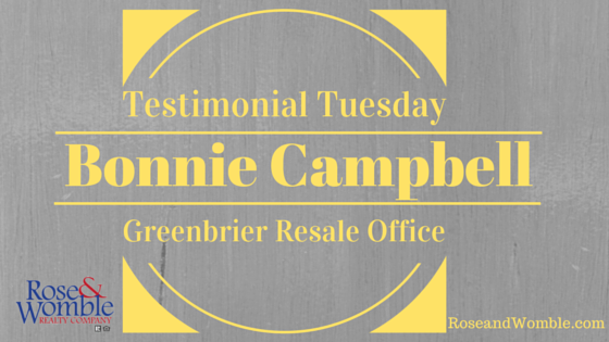 Testimonial Tuesday Feature Image - Rose and Womble