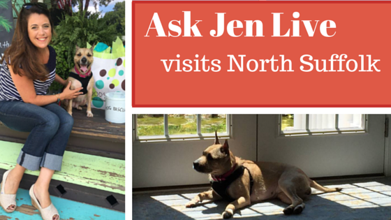 Ask Jen Live visits north suffolk