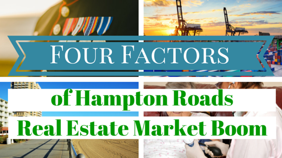 The Four Factors of Hampton Roads Housing Boom