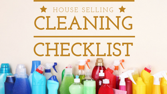 House Selling Cleaning Checklist