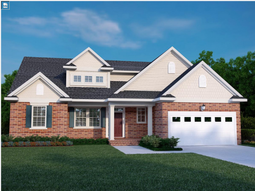 Sorrento plan from Napoliatano homes