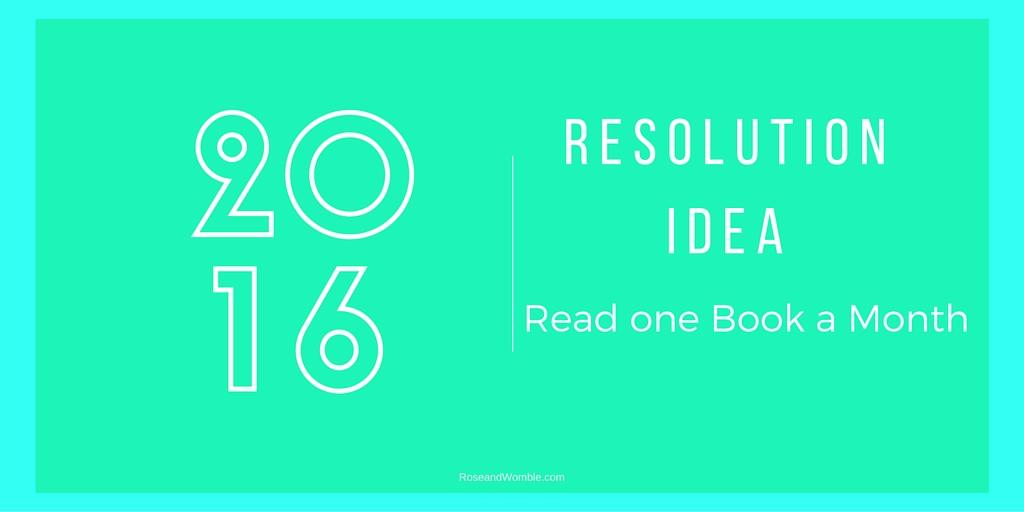 New Years Resolution idea