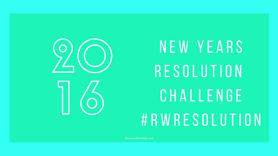 resolutions challenge blog title