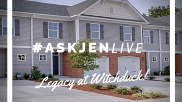 #AskJenLive visits Legacy at Witchduck Lake in Virginia Beach