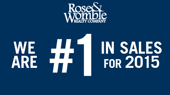 Rose & Womble Number 1 in Sales in Hampton Roads for 2015