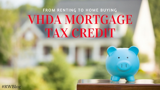vhda mortgage tax credit
