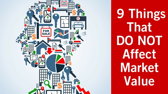 9 Things That DO NOT Affect Market Value blog title