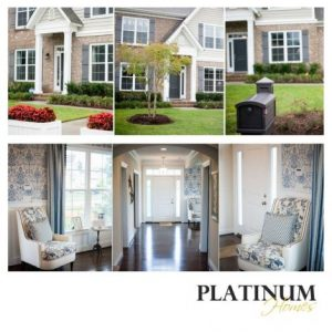 Model Home views from Platinum Homes
