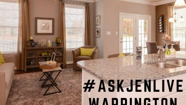 #AskJenLive Visits Warrington Hall