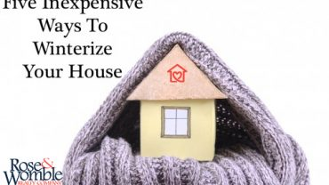 Five Ways to Winterize Your Home Now