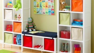 Space Saving Kids' Playroom Design Ideas