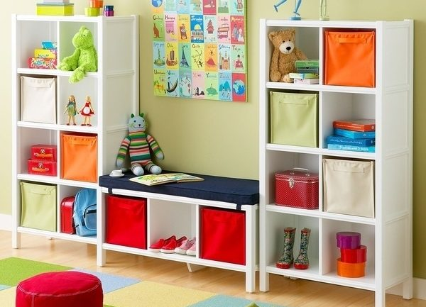 Space Saving Kids' Playroom Design Ideas