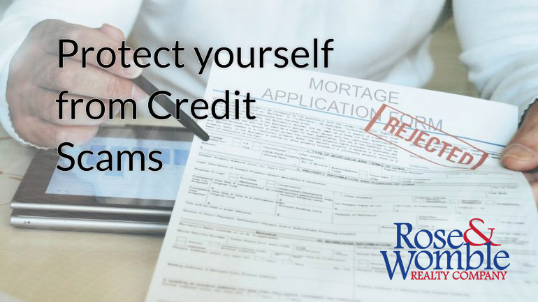 Protect yourself from Credit Scams