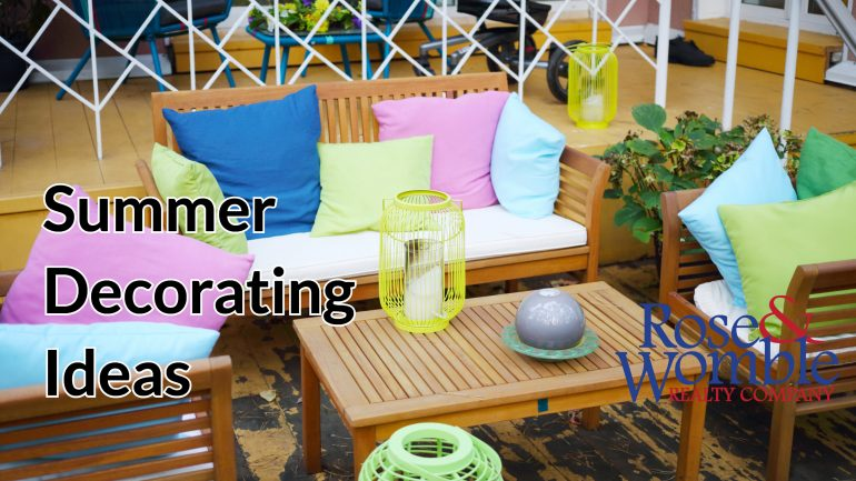 6 Decorating Ideas for Summer