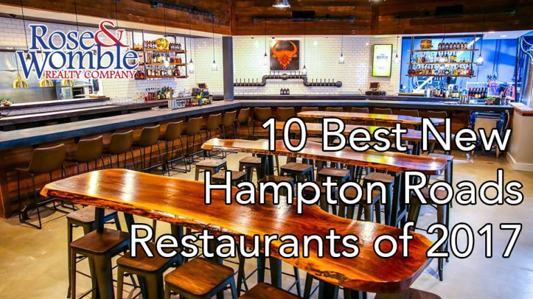10 Best New Hampton Roads Restaurants of 2017