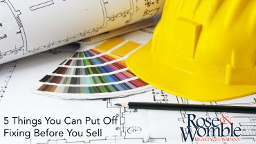 5 Things You Can Put Off Fixing Before You Sell