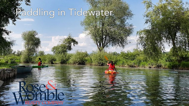 Paddling in Tidewater – Places to kayak, canoe and paddleboard near you