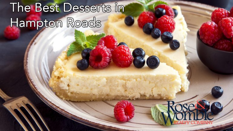 The Best Desserts in Hampton Roads