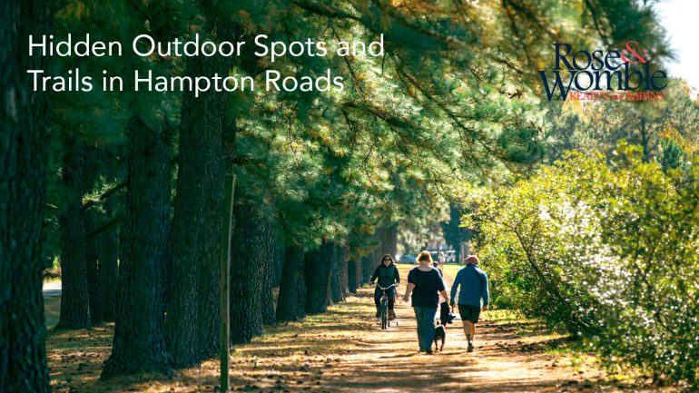 Hidden Outdoor Spots and Trails in Hampton Roads
