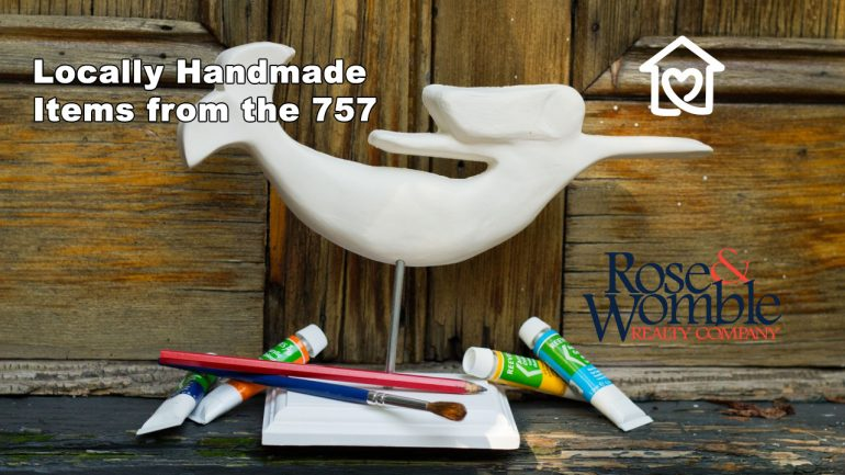 Locally Handmade Items from the 757 that make great gifts