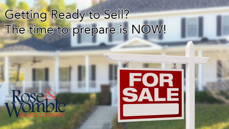Getting Ready to Sell this Spring? The time to prepare is NOW
