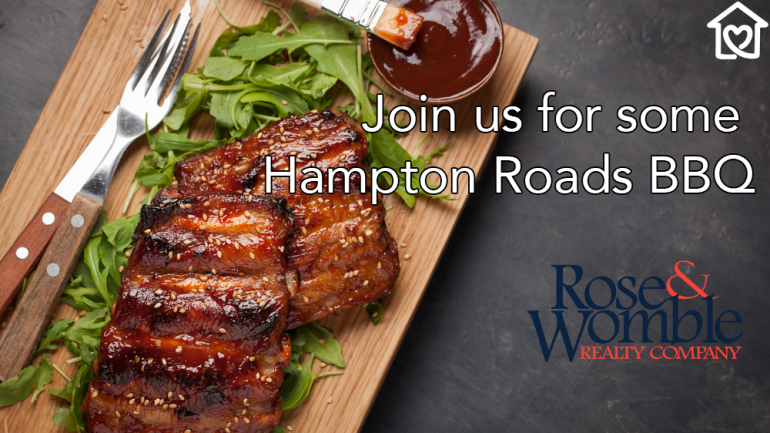Smoke 'Em If You Got 'Em: Join Us for Some Hampton Roads BBQ
