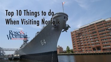 Vacay in the Mermaid City: Top 10 Things to do When Visiting Norfolk