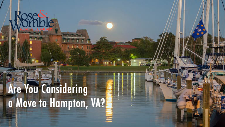 Are You Considering a Move to Hampton, Virginia?