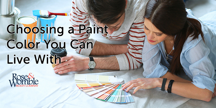 Choosing a Paint Color You Can Live With